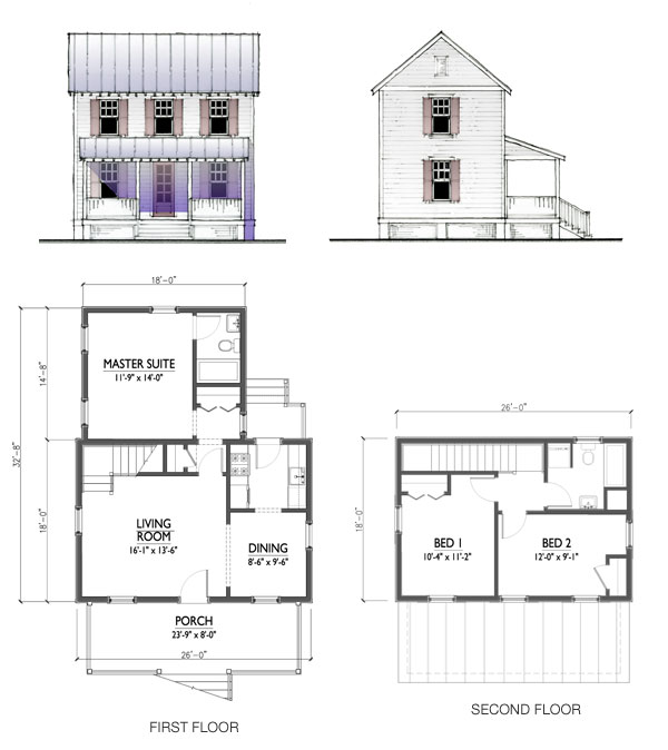 Cottage Plans 800 To 1200 Square Feet Floor Plans