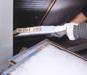 Clean or Replace HVAC Filters