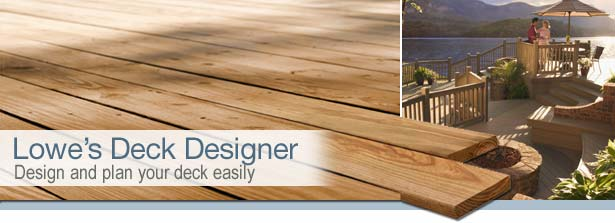 Design and Plan Your Deck Easily.