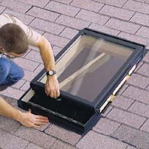 Installing a Skylight.