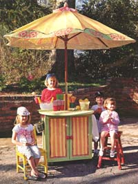 Woodworking plans home information for Kids lemonade stand plans