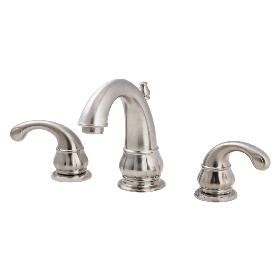 "Treviso Brushed Nickel 8"" Lavatory Faucet"
