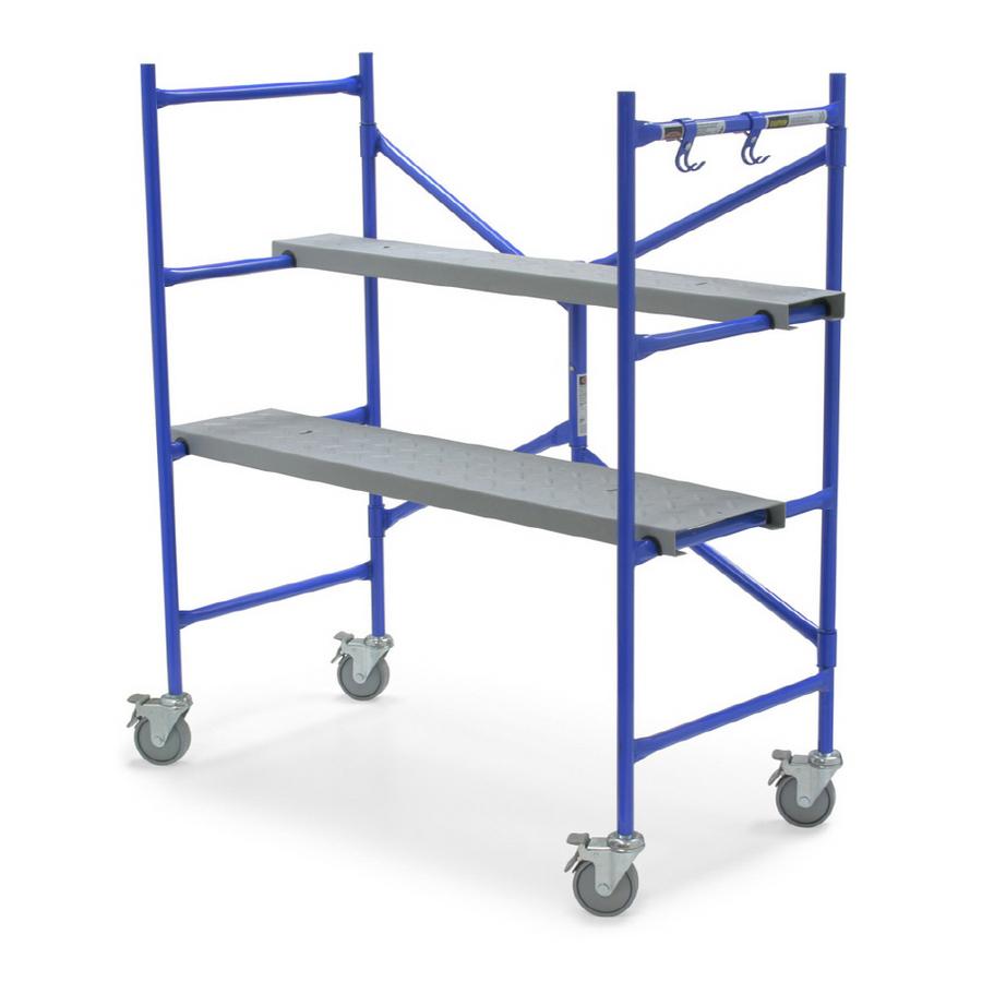 Indoor Scaffolding Platform : Indoor scaffolds fine homebuilding breaktime