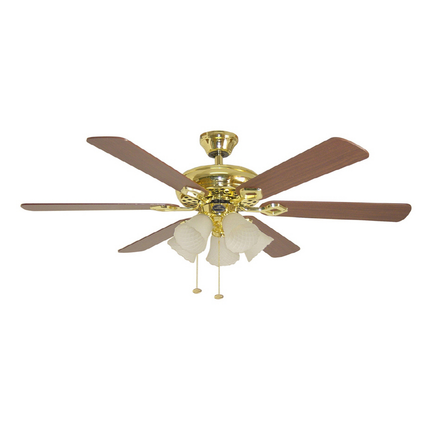 6 Blade Fans With Full Sized Blades Vintage Ceiling