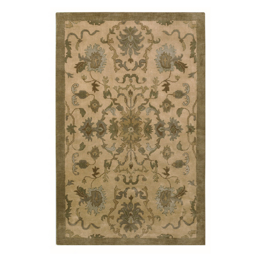 The Swiders: allen + roth Olena Plymouth rug from Lowes