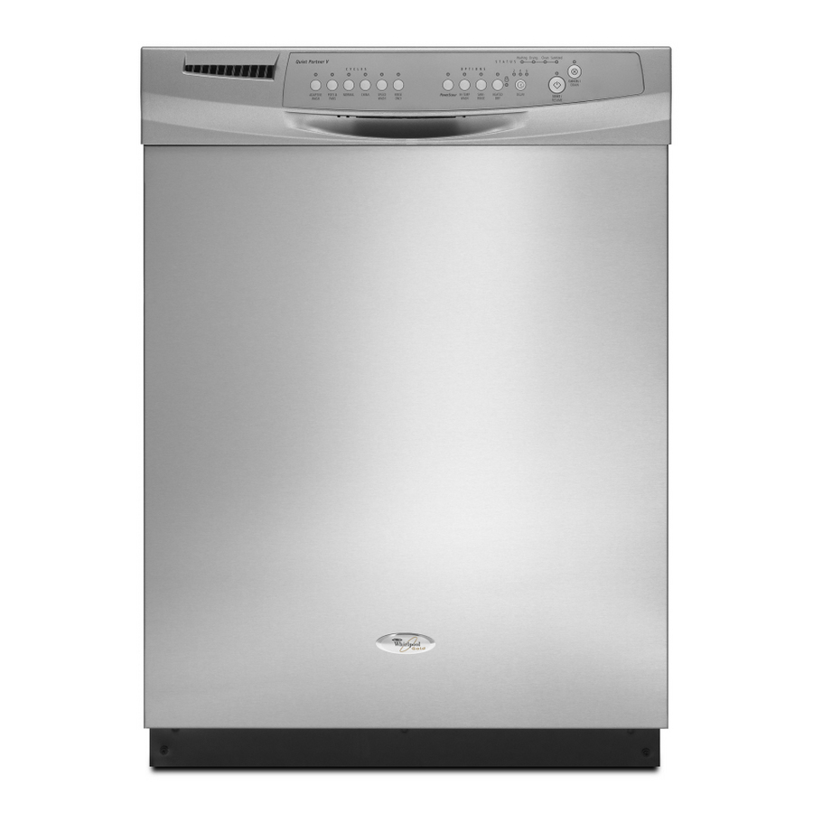 "[Lowe's] Whirlpool Gold® Stainless Steel 24"" Built-In Tall"