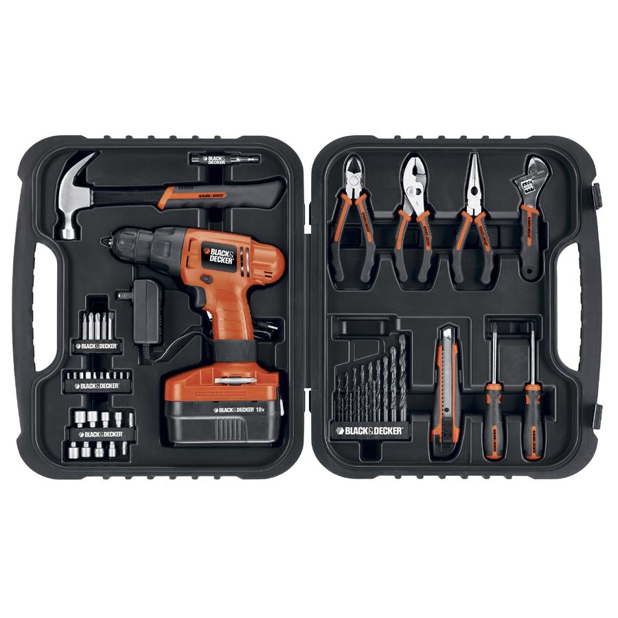 Amazon.com: Black  Decker CDC180ASB 18-volt Compact Drill: Home