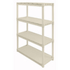 Plano 56.25-in H x 34.25-in W x 14.25-in D 4-Tier Plastic Freestanding Shelving Unit