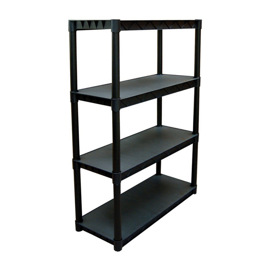 shop plano h x w x d 4 tier. Black Bedroom Furniture Sets. Home Design Ideas