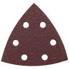 Bosch 5-Pack 80-Grit 3-3/4-in W x 3-3/4-in L Detail Sandpaper