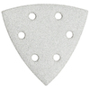 Bosch 5-Pack 80-Grit 3-3/4-in W x 3-3/4-in L Detail Sandpaper