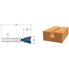 Bosch Carbide-Tipped Dovetail Bit