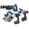 Bosch 4-Tool 36-Volt Lithium Ion Cordless Combo Kit