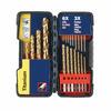Bosch 21-Pack Titanium Twist Drill Bit Set