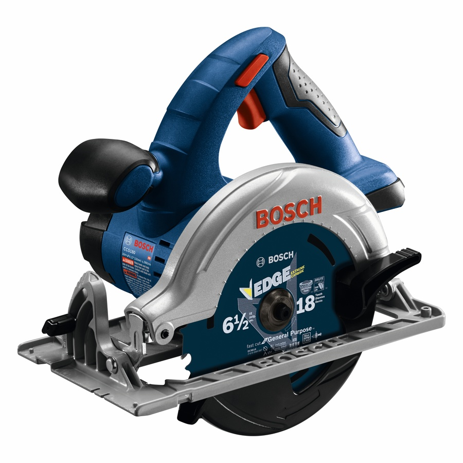 Shop Bosch 18-Volt 6.5-in Cordless Circular Saw at Lowes.com