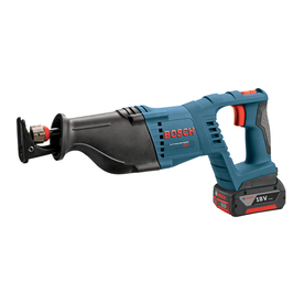 Bosch 18-Volt Variable Speed Cordless Reciprocating Saw Battery Included