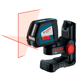 Bosch 165-ft Beam Self-Leveling Cross-Line Laser Level GLL2-50