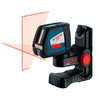 Bosch 165-ft Beam Self-Leveling Cross-Line Laser Level