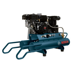 Bosch 6.5-HP 8-Gallon 120-PSI 220-Volt Horizontal Portable Gas Air Compressor