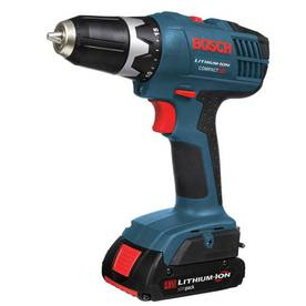 Bosch 18-Volt 3/8-in Cordless Lithium-ion Compact Drill Driver with Case