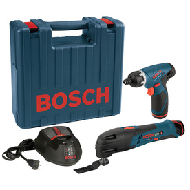 Bosch 12-Volt Oscillating Tool Kit
