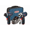Bosch 12-Volt Max Lithium Ion Drill and Impact Driver Ion Kit