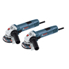 Bosch 4-1/2-In 7.5 Amp Sliding Switch Corded Angle Grinder 2-Pack