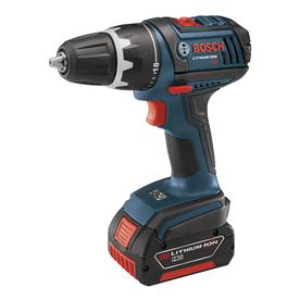 "Bosch 2 18-Volt 1/2"" Cordless Compact Tough Drill Driver"