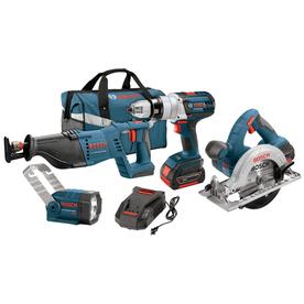 Bosch 4-Tool 18-Volt Cordless Combo Kit