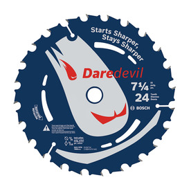 Bosch 7-1/4-in 24-Tooth Standard Carbide Circular Saw Blade