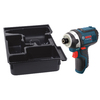 Bosch Click & Go Bare Tool 12-Volt 1/4-in Hex Drive Cordless Impact Driver with L-Boxx Insert Tray