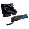 Bosch Click & Go Bare Tool 2-Piece 12-Volt Max Cordless Oscillating Tool Kit with L-Boxx Insert Tray