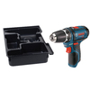 Bosch Click & Go Bare Tool 12-Volt Max 3/8-in Cordless Drill Driver with L-Box Insert Tray