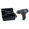 Bosch Click & Go Bare Tool 12-Volt Max 3/8-in Variable Speed Cordless Hammer Drill with L-Boxx Insert Tray