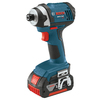 Bosch 18-Volt Lithium Ion (Li-ion) 1/4-in Cordless Variable Speed Impact Driver with Hard Case