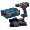 Bosch Click & Go Bare Tool 1/2-in 18-Volt Variable Speed Cordless Hammer Drill/Driver with L-Boxx-2