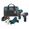Lowes.com deals on Bosch 3-Tool 12-Volt Cordless Combo Kit