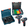 Bosch Click & Go 12-Volt Max Lithium Ion Cordless Drill/Driver and Impact Driver Kit