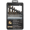 Skil 21-Pack Gold Oxide Twist Drill Bit Set