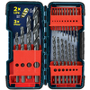 Bosch 21-Pack Black Oxide Twist Drill Bit Set