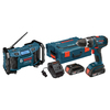 Bosch 18-Volt Lithium Ion 1/2-in Cordless Drill with Battery and Hard Case