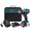Bosch 18-Volt 1/2-in Cordless Variable Speed Brushless Impact Driver with Soft Case