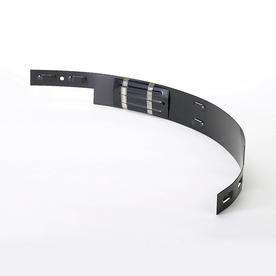 COL-MET 3-ft Black Powder Coat Tree Ring Section