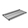 Alera 3-ft L x 18-in D Black Wire Shelf