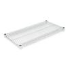 Alera 3-ft L x 18-in D Silver Wire Shelf