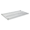 Alera 4-ft L x 24-in D Silver Wire Shelf