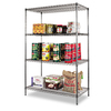 Alera 72-in H x 48-in W x 24-in D 4-Tier Steel Freestanding Shelving Unit