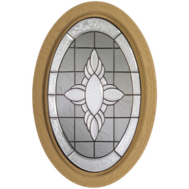 Century Specialty Windows 20-3/4-in x 32-in Museum Series Primed Triple Pane Oval New Construction Window