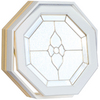 Century Specialty Windows 24-in x 24-in Windows of Distinction Series Unfinished Wood Triple Pane Double Strength Octagon New Construction Window