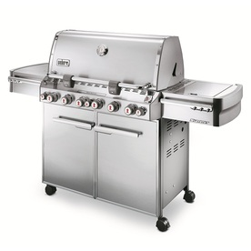Weber Summit S-670 Stainless Steel 6-Burner Gas Grill